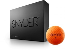 Piłki golfowe SNYDER SNY SOFT (orange mat)